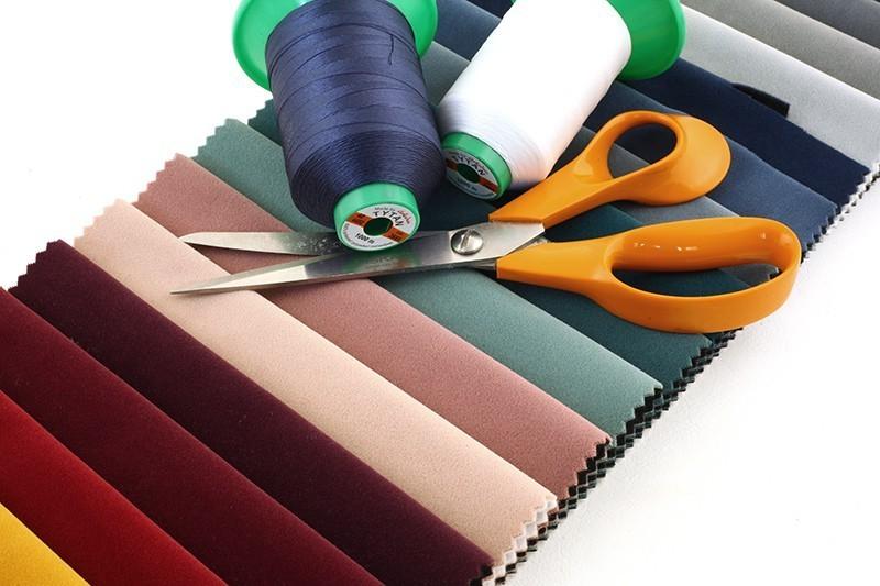 Kolekcja PORTLAND tkanina meblowa - obicociowa worek