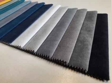 Tkanina dekoracyjna MODERN materiał zamsz R1-18
