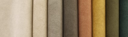 Tkanina R5-29 piekny materiał obiciowy zamsz skóropodobny