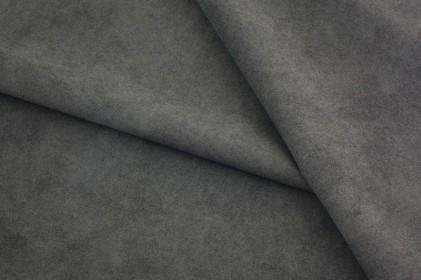 Tkanina NUBUK materiał obiciowy zamsz 97W grafit